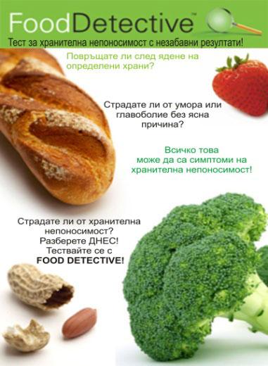 Тест за хранителна непоносимост